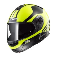Шлем модуляр LS2 FF325 Strobe Zone Black Hi-Vis Yellow