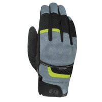 Мотоперчатки текстильные Oxford Brisbane Air MS Short Summer Glove Charcoal/ Black