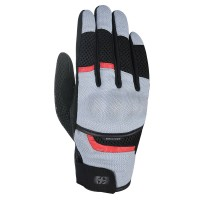 Мотоперчатки текстильные Oxford Brisbane Air MS Short Summer Glove Grey/ Black