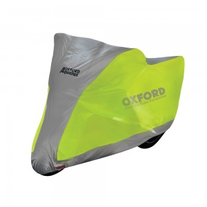 Моточехол на скутер мотоцикл Oxford Aquatex Fluorescent Cover S