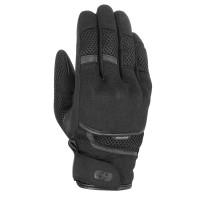 Мотоперчатки текстильные Oxford Brisbane Air MS Short Summer Glove Stealth Black