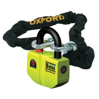 Замок с цепью и сигнализацией Oxford BossAlarm 12mm Chain lock-1.5mtr OF7