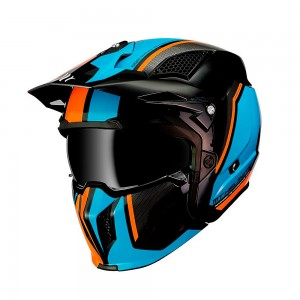 Шлем трансформер MT Streetfighter SV Twin Gloss Fluor Orange