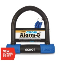 Замок с сигнализацией на скутер Oxford Alarm-D Scoot