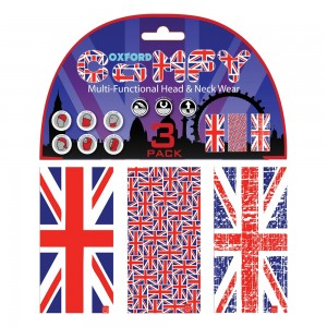 Бафф Oxford Comfy Union Jack 3-Pack NW120