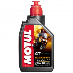 Масло моторное 4Т Motul SCOOTER POWER 4T 5W40 MA 1L синтетика