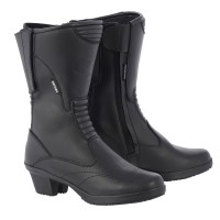Мотоботинки женские Oxford Valkyrie Boots Black