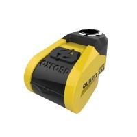 Замок с сигнализацией на диск Oxford Quartz XA6 Alarm Disc Lock(6mm pin) Yellow/Black