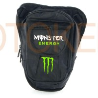 Сумка на бедро MONSTER ENERGY черная