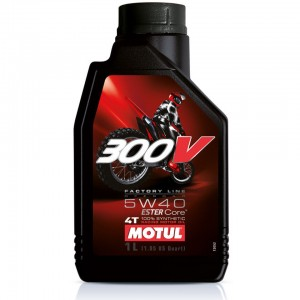 Масло моторное 4Т Motul 300V Factory Line Off Road 5W40 1L синтетика