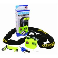 Замок с сигнализацией и цепью для мотоцикла Oxford BIG Boss Alarm 12mm Chainlock 1.2mt