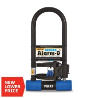 Замок с сигнализацией для мотоцикла скутера Oxford Alarm-D Max High Security