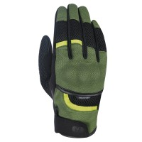 Мотоперчатки текстильные Oxford Brisbane Air MS Short Summer Glove Green/ Black